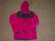 Girls The Northface CDA1 Oso Full Zip Pink Jacket! Size M (10-12) Sold As Is!