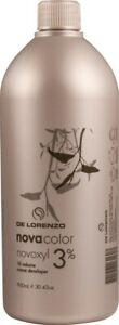 De Lorenzo NovaColor Novoxyl Creme Developer 3% 10 Vol 900ml Delorenzo Peroxide