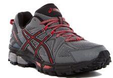 NIB ASICS GEL-Kahana 8 Men's Running Shoes Shark/Black/True Red Size 11