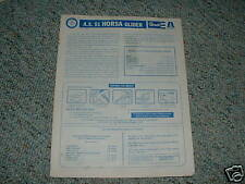 Revell A.S. Horsa Glider  Instruction Sheet