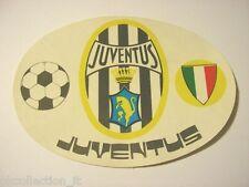 VECCHIO ADESIVO anni '70 / Old Sticker CALCIO FOOTBALL JUVENTUS (cm 15x10)