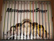 BOX COFANETTO 16 DVD MOTOMONDIALE STORY VALENTINO ROSSI OFFICIAL COLLECTION