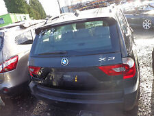 BMW X3 M SPORT 2.0 DIESEL E83 2005 BARE TAILGATE ONLY IN BLACK