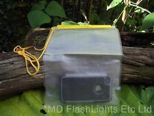 18.5CM X 26CM WATERPROOF BAG & LANYARD IDEAL FOR MOBILE PHONE BUSHCRAFT KIT
