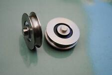 32mm Stainless Steel Doric DR4 Series Ranch Sliding Door Rollers Bearings Wheels
