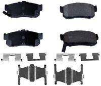 Disc Brake Pad Set-ProSolution Semi-Metallic Brake Pads Rear Monroe FX540