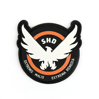 9CM Tom Clancy's The Division Agent SHD logo PVC Hook Loop patch badge cosplay T