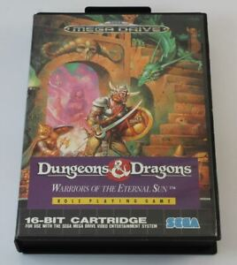 Dungeons and Dragons Warriors of the Eternal Sun (Megadrive)