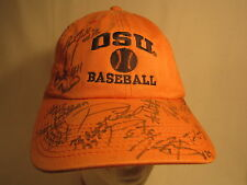 Men's Cap AUTOGRAPHED Oklahoma State COWBOYS  Size: Adjustable [Z164f]