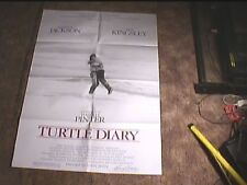 """TURTLE DIARY """"B"""" 1986 ORIG MOVIE POSTER"""
