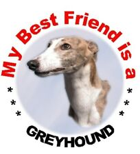 2 Greyhound Car Stickers By Starprint - Auto combined postage