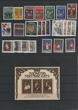 Liechtenstein Jahrgang yearset 1981 postfrisch ** MNH komplett weitere sh. Shop
