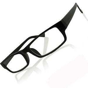 Reading Glasses stylish design unisex men lady black frame + 1.0 1.5 2.0 2.5 3.0
