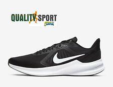 Nike Downshifter 10 Nero Bianco Scarpe Uomo Sportive Running CI9981 004 2020