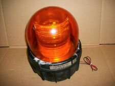 Large Federal Signal Commander Amber Strobe Light 371st 250 250vdc Lot X 4