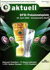 DFB Cup Final 2006 Eintracht Frankfurt-FC Bayern Munich, 29.04.2006