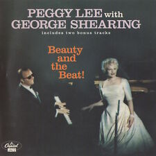 PEGGY LEE WITH GEORGE SHEARING - BEAUTY AND THE BEAT! - CD