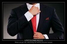 AWESOMENESS - BARNEY STINSON POSTER 24x36 - MOTIVATIONAL 871