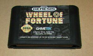Wheel of Fortune Sega Genesis Fast Shipping! Authentic