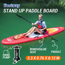 BESTWAY Inflatable Stand Up Paddle Board Sup Kayak with Removable Seat 3M 65073