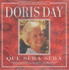 DORIS DAY Que Sera Sera CD Europe Pegasus 1997 20 Track (Pegcd053)