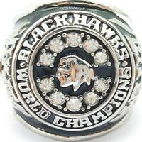 USA Chicago Blackhawks 1961 Stanley Mikita Stanley Cup Silver Championship Ring