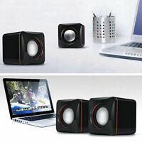 Mini Portable USB Audio Music Player Speaker for iPhone iPad MP3 Laptop PC P2