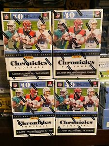2020 Panini NFL Chronicles Football Trading Cards Sealed Retail Packs