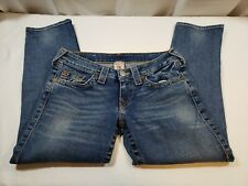 True Religion Women's Capri Jeans World Tour Section Kate Size 28 VGC