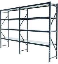4m*2m*0.6m Metal Warehouse Racking Garage Steel Shelving MELBOURNE Delivery