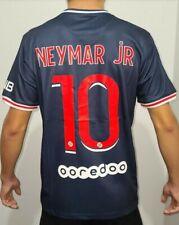 New Neymar jR #10 Authentic PSG Home Soccer Jersey 2020/2021 Men's Small