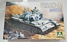 Takom 1/35th Scale Israeli I.D.F. TIRAN 4 Medium Tank 2 n 1 Tank Model 2051 NIB