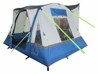 Inflatable Camper Van Drive Away Awning - OLPRO Cubo Breeze (Blue/Grey)