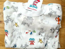 NWT Hanna Andersson ORGANIC DR SEUSS CAT IN HAT LORAX HORTON Pajamas 150 12