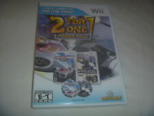 2 For 1 Power Pack Indianapolis 500 Legends & WWII Aces (2013) Nintendo Wii Rare