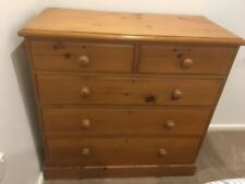 Pine Chest of Drawers Antique Cabinets & Cupboards