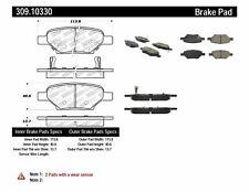 Disc Brake Pad Set-Disc Rear Stoptech 309.10330