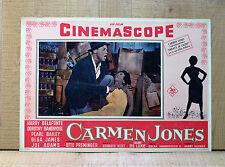 CARMEN JONES fotobusta poster Harry Belafonte Dorothy Dandridge Preminger Bizet