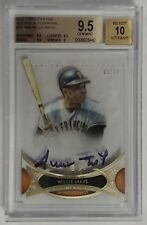 2014 Topps Tier One Willie Mays #/30 BGS 9.5 Auto 10 San Francisco Giants