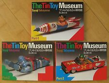 Tin Toys CARS & Robots & SPACESHIPS the Takayama Collection Volume 1+2+3!!!