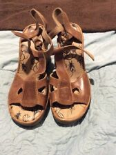 Fly Sandals In Tan Size 39 New Without Box