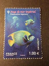 FRANCE 2012, timbre 4649, POISSONS, ANGE DE MER, neuf**, MNH ANGEL FISH