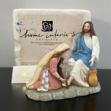 Homco Tears of Repentance Greatest Stories Ever Told Jesus Figurine