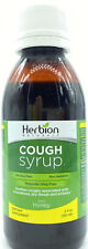Herbion All Natural Herbal Cough Syrup Alcohol Free Non Sedative w/ Honey 5 oz