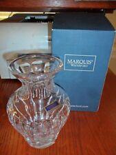 "Marquis by Waterford 6"" Tall Sheridan Lead Crystal Vase NIB"