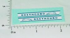 Matchbox Greyhound Bus Replacement Stickers      MB-66C