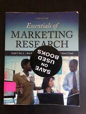 3rd Ed Essentials of Marketing Research by Joseph F., Jr. Hair, David J. Or