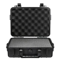 Waterproof Hard Carry Tool Case Bag Storage Box Camera Photography w/ Sponge