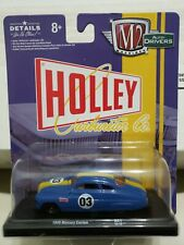 M2 MACHINES Auto-Drivers R61 Holley Carb 1949 Mercury Custom - Blue 1:64 Scale