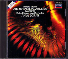 Antal Dorati: Strauss quindi vocale Zarathustra Macbeth CD 1983 Richard
